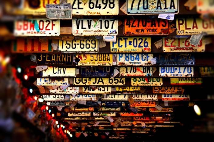 Wymiary tablicy rejestracyjnej – samochodu, motocyklu, motoroweru