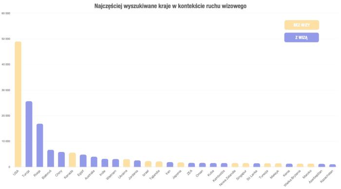 Wizy - czego szukają Polacy?