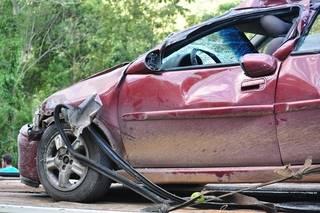 uszkodzony pojazd